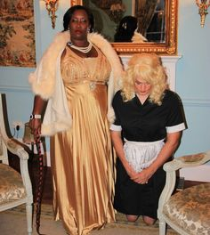 Black ladies now have their obedient white sissy maids