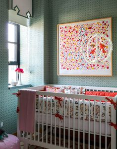 """Anne's (@Paula Tilton Fenwick) most treasured design related possession is """"A James Rosenquist screen print called 'For the Young Artist' that hangs in my soon-to-be-daughter's nursery."""" Read the full interview here..."""