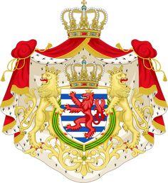 File:Greater coat of arms of the grand-duchy of Luxembourg.svg Герб Люксембурга Координаты: 49°49′00″ с. ш. 6°06′00″ в. д. (G) (O) Показать географическую карту Девиз: «Mir wëlle bleiwe wat mir sinn» «Мы хотим остаться теми, кто мы есть» Гимн: «Ons Hémécht (Наше Отечество)»