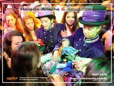 Subliminal Show!* Contrataciones : Horacio Anache & Asociados - Lun a Vier 13 a 18hs : (011) 4257-2874.