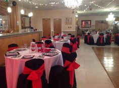 Room Setup for Mrs Mable Party