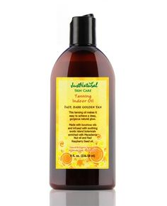 Less than $30 (cheap compared to what I pay at teh salon) Natural Tanning Indoor Oil - Helps & Support Skin
