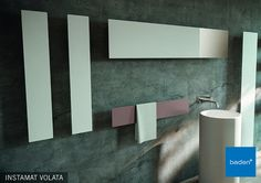 Design en warmte in uw badkamer met de Instamat Volata