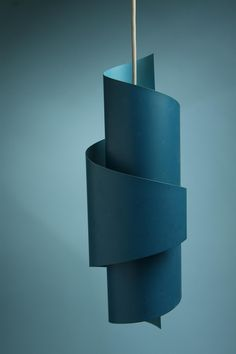 Ceiling lamp. Anonymous. Denmark. 1950's. Lacquered steel.