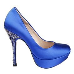 This is how I would do something blue!    Steve Madden - #118570042 - $150.00