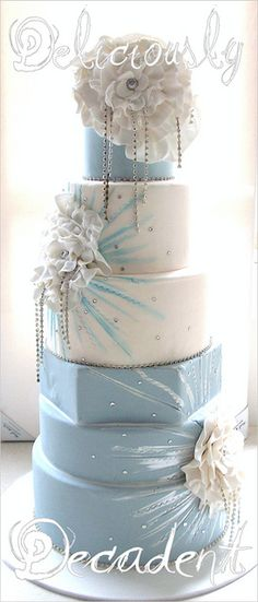 Tartas de boda - Wedding Cake - BEAUTIFUL!