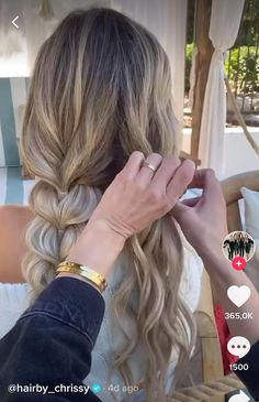 Hairdo For Long Hair, Hair Due, Easy Hairstyles For Long Hair, Cool Braid Hairstyles, Great Hair, Hair Videos, Hair Looks, Hair Inspiration, Locks