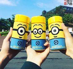 ボトルが可愛いすぎる! 韓国のコンビニGS25からミニオンズウユが発売!