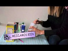 DIY. - video- COMO HACER PINTURA DE PIZARRA, PIZARRON, CHALK PAINT