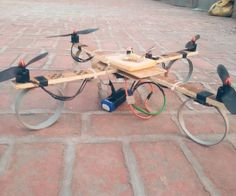 DIY Quadcopter From Scratch style