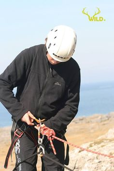 Abseiling with www.wildfullstop.com