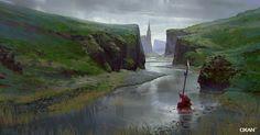 The Last River, Yohann Schepacz OXAN STUDIO on ArtStation at http://www.artstation.com/artwork/the-last-river