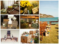 Inspirações para um casamento rústico: decoração com pallets DIY