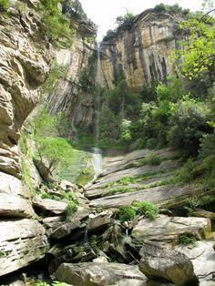 Les gorges de Sant Bartomeu