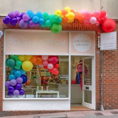 Brighton pride is just around the corner too, so our brighton shop is celebrating in style with the most awesome window display!