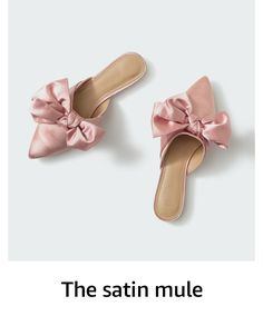 The Drop Women's Essen Bow Pointed Toe Flat Mule Sandal Holiday Gift Guide, Holiday Gifts, Flat Mules, Crystal Gifts, Mule Sandals, Pointed Toe Flats, Best Friend Gifts, Jewelry Stores, Bows