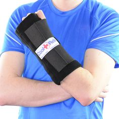 This wrist ice pack is perfect for tendinitis, carpal tunnel, sprains, etc. The removable ice inserts allow continuous cold compression! Wrist Ice Pack, Cold Wrap by Cool Relief www.coolrelief.net