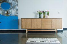 details zu sideboard mit schubladen altholz alte balken konsole farbige schubladen m bel. Black Bedroom Furniture Sets. Home Design Ideas