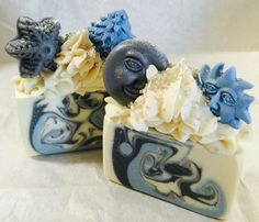 "Luxurious Cold Process Artisan Soap ""Winter Festival"" Shea/Cocoa/Mango Butter Soap - Handmade/Homemade Soap - VEGAN"
