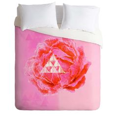 Hadley Hutton Floral Tribe Collection 5 Duvet Cover   DENY Designs Home Accessories