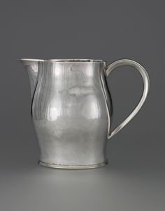 Paul Revere, Pitcher, ca. 1805. Silver. Courtesy Yale University Art Gallery