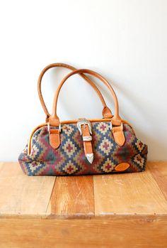 kilim bag / southwest woven purse / Nadadores Woven by DearGolden, 68.00