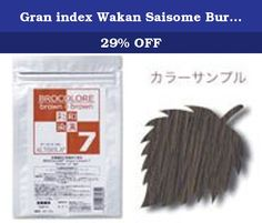 Gran index Wakan Saisome Burokorore BB7 120g. Product Size (width ~ depth ~ height): 110 ~ 50 ~ 200 Contents: 120g.