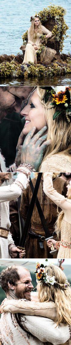 Floki + Helga #vikings