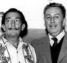 Dali with Walt Disney
