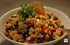 Colorful combinations of vegetables make up this health salad that is quick and easy to make. Perfect served with tacos or at a bar-b-que, this one is a sure winner. To prepare Black Bean and Corn ...