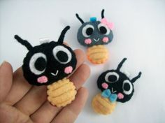 Cute Insect Ladybird Keychain/Phone Charm/Magnet  by araleling, $5.00