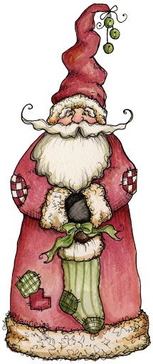 "Laurie Furnell - ""Santa"" - 215 x 512 px"