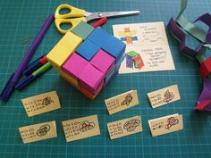 How to make famous puzzle from paper strips without glue. If you have any questions, don't hesitate and ask please. I will be glad to see the photos of finished puzzles or any feedback you can give me, especially if you try in the class.