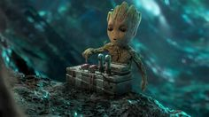 groot push the button