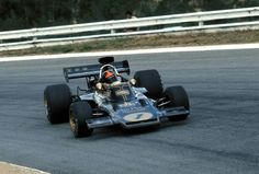 Kyalami F1 GP, 1973 • Emerson Fittipaldi in his Lotus-Ford. He finished 3rd.