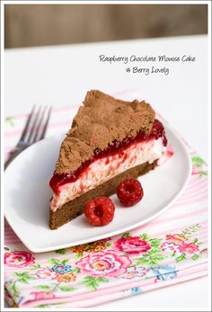 Berry Lovely: Raspberry Chocolate Mousse Cake