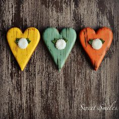 Rustic Hearts | Cookie Connection