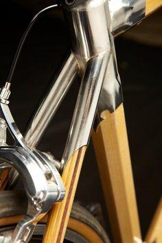 Beautiful wood bicycles