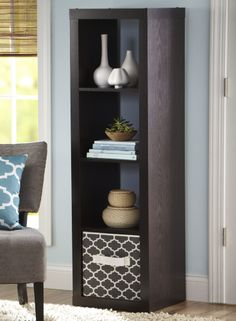 Our 4 cube organizer is a great solution if space in your home is at a premium.