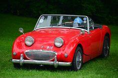 Austin Sprite HD Poster Classic British Sports Car Print multiple sizes avail