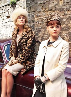 Rosamund Pike & Carey Mulligan in 'An Education'. Looks interesting. Just posting for my reference.