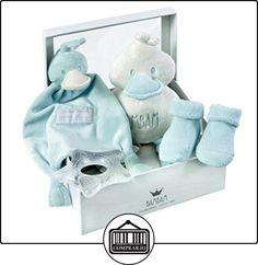 Bam Bam - Regalo para el bebé, de 4 secciones, color: azul  ✿ Regalos para recién nacidos - Bebes ✿ ▬► Ver oferta: http://comprar.io/goto/B00E6P7W8S