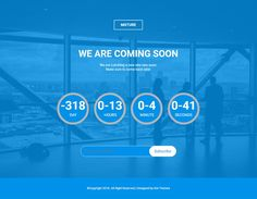 Mxture is a simple and professional free coming soon website Template built with Bootstrap framework. It includes Js count-down and subscription form. Website Coming Soon, Coming Soon Page, Under Construction Website, We Are Coming, Free Website Templates, News Sites, Blogger Templates, Website Ideas, Messages