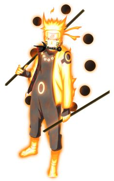 Naruto Senjutsu of the Six Paths | Render | 4 by danteg9-2