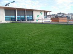 Gazon synthétique BNP Marseille Green touch