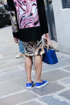 Paris Street Style from Couture Week  - ELLE.com