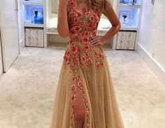 Condition:New Without tagsBrand: HandmadeSize:All SizeBody Shape: All SizesThis dress could be custom made, there are no extra cost to do custom size and color.1.Color:color free ,all the colors on ..