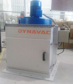 Compact Mounted Dust Collector for Silo Exhaust. Dynavac® provided a silo mounted filter unit with automatic pulse jet cleaning which could be located on the top of silo exhaust. The dust is collected and dropped back into the silo directly.  http://www.dynavac.in/compact-mounted-dust-collector-silo-exhaust/