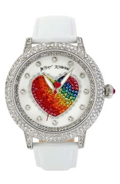 rainbows and hearts! :)