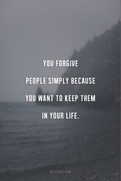 This quote is a tough one.  Sometimes forgiveness is hard but it frees the heart.  #quote